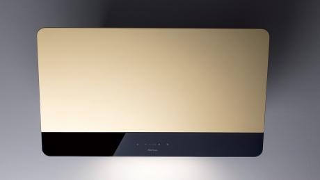 Настенная вытяжка Sirius SLTC 93 SKINNY gold 80